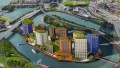 London City Island development Leamouth Peninsula Canning Town Docklands 2015 © Ballymore