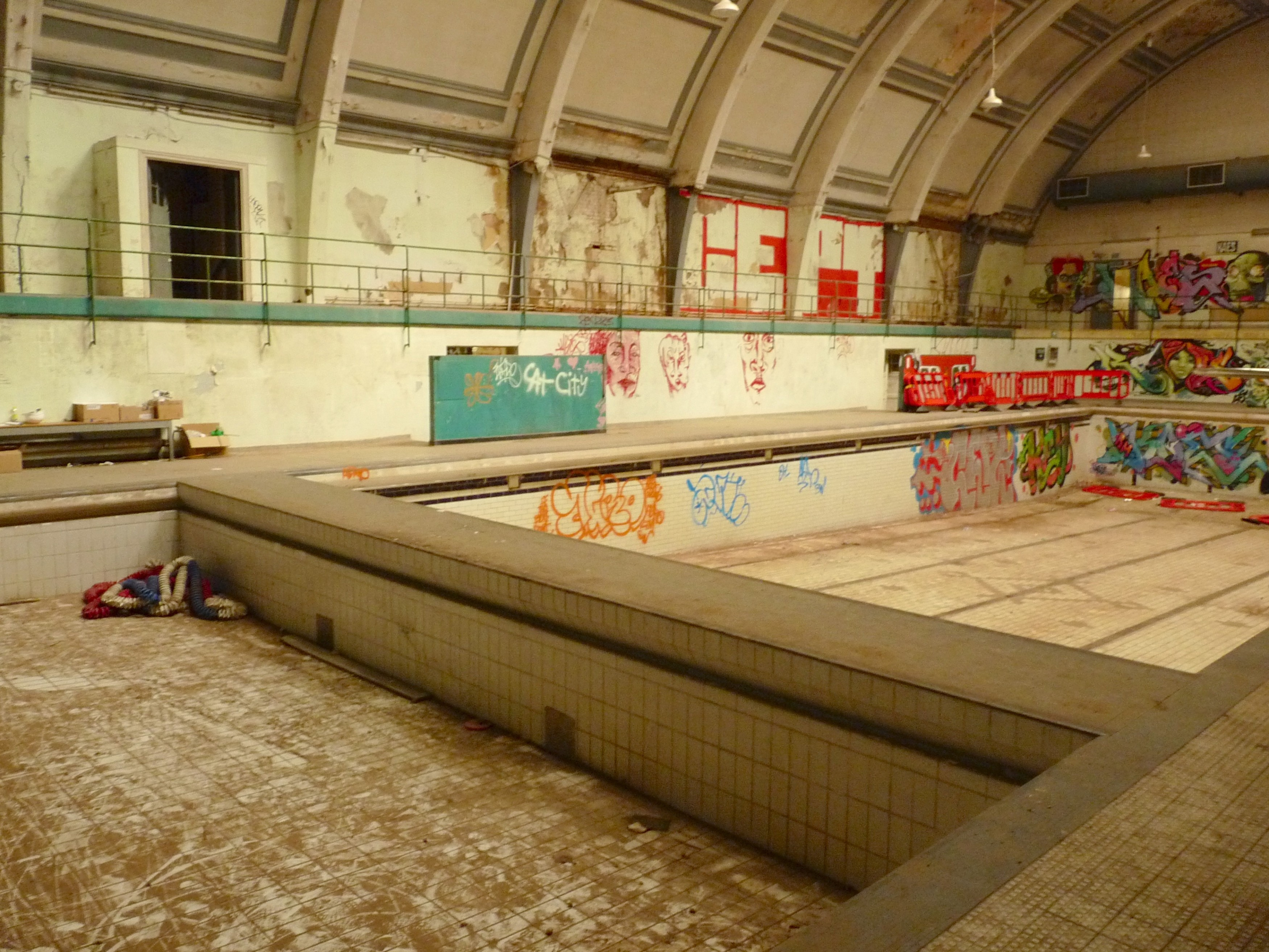 Haggerston Baths 3 Proposals Include A Pool Loving Dalston